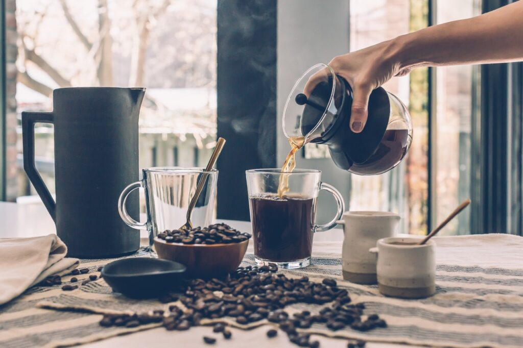 Hvordan producers kaffe?